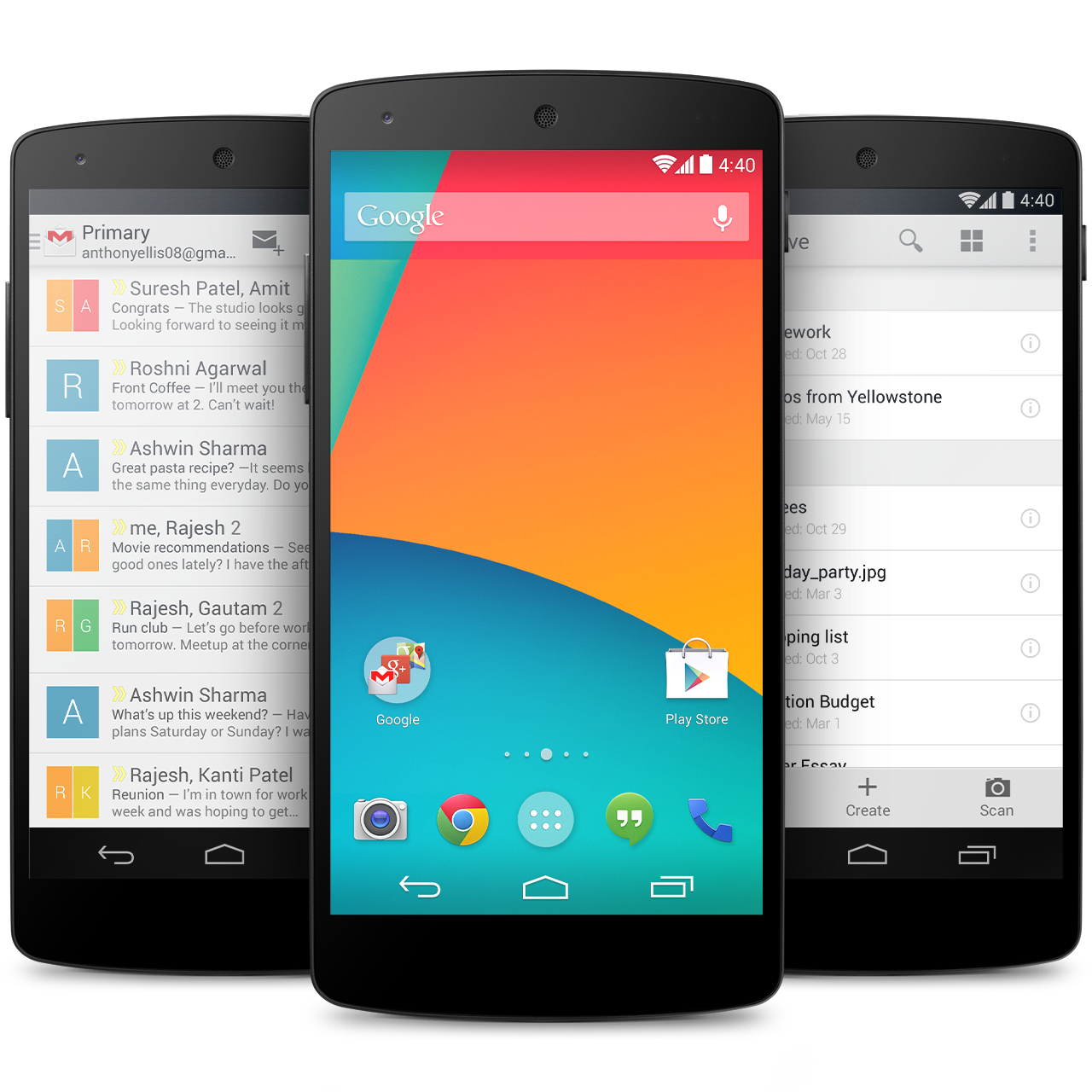 Google Nexus 5 with Android 4.4 KitKat now available in ...
