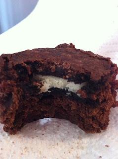 Oreo Stuffed Brownies Recipe