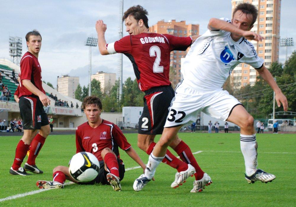 Miroslav Radović podczas meczu z FK Moskwa - fot. Tomasz Janus / sportnaukowo.pl