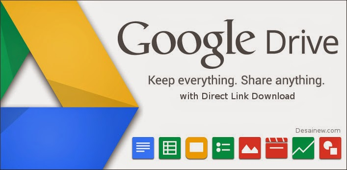 how to create direct link download in google drive