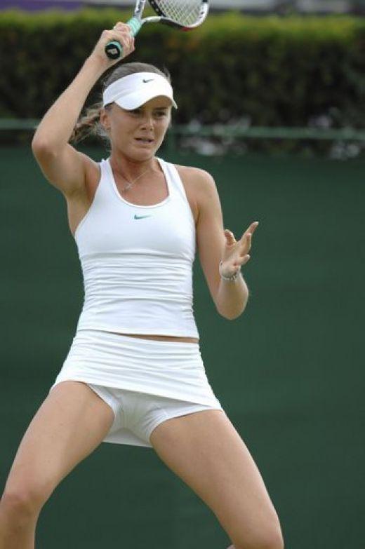 Sous les jupes des joueuses de Tennis sexy sur Gratuit