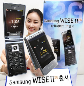 Samsung Wise II 2G specs reviews, hp lipat keren, ponsel clamsell