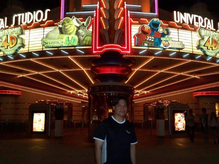 Osaka Universal Studios Japan Shrek Sesame Street 4D