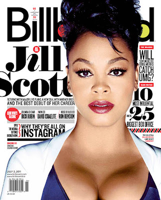>Jill Scott en couv' de Billboard