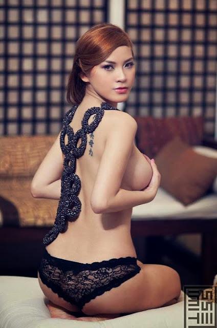 Sexy Hot Model - Nathalie Hayashi