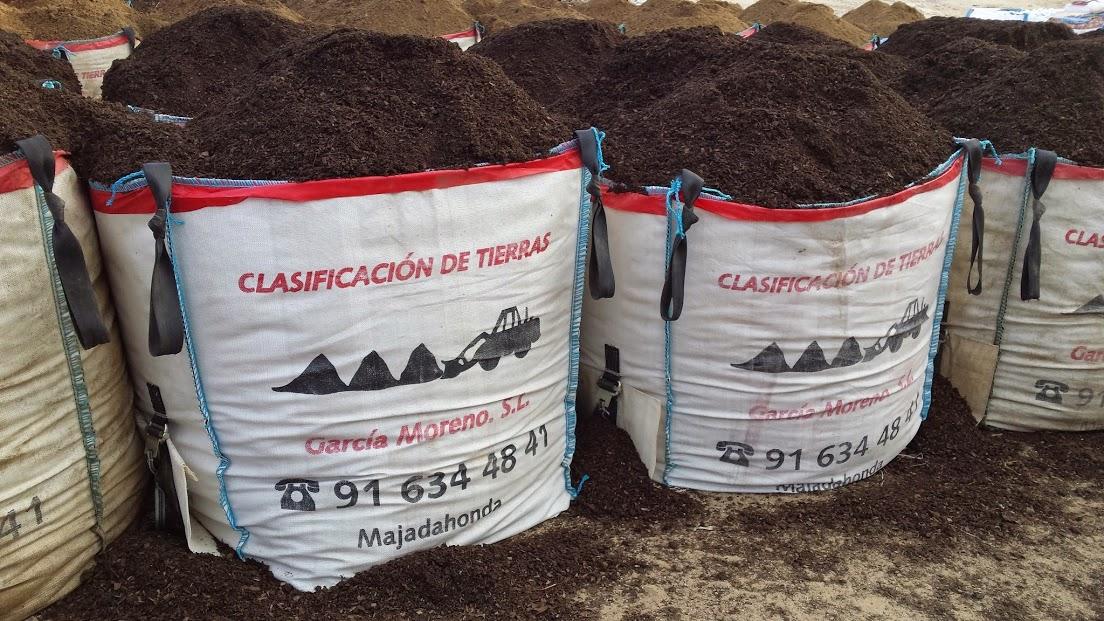 Venta de mantillo abonos sustrato tierra vegetal mantillo for Mantillo o sustrato