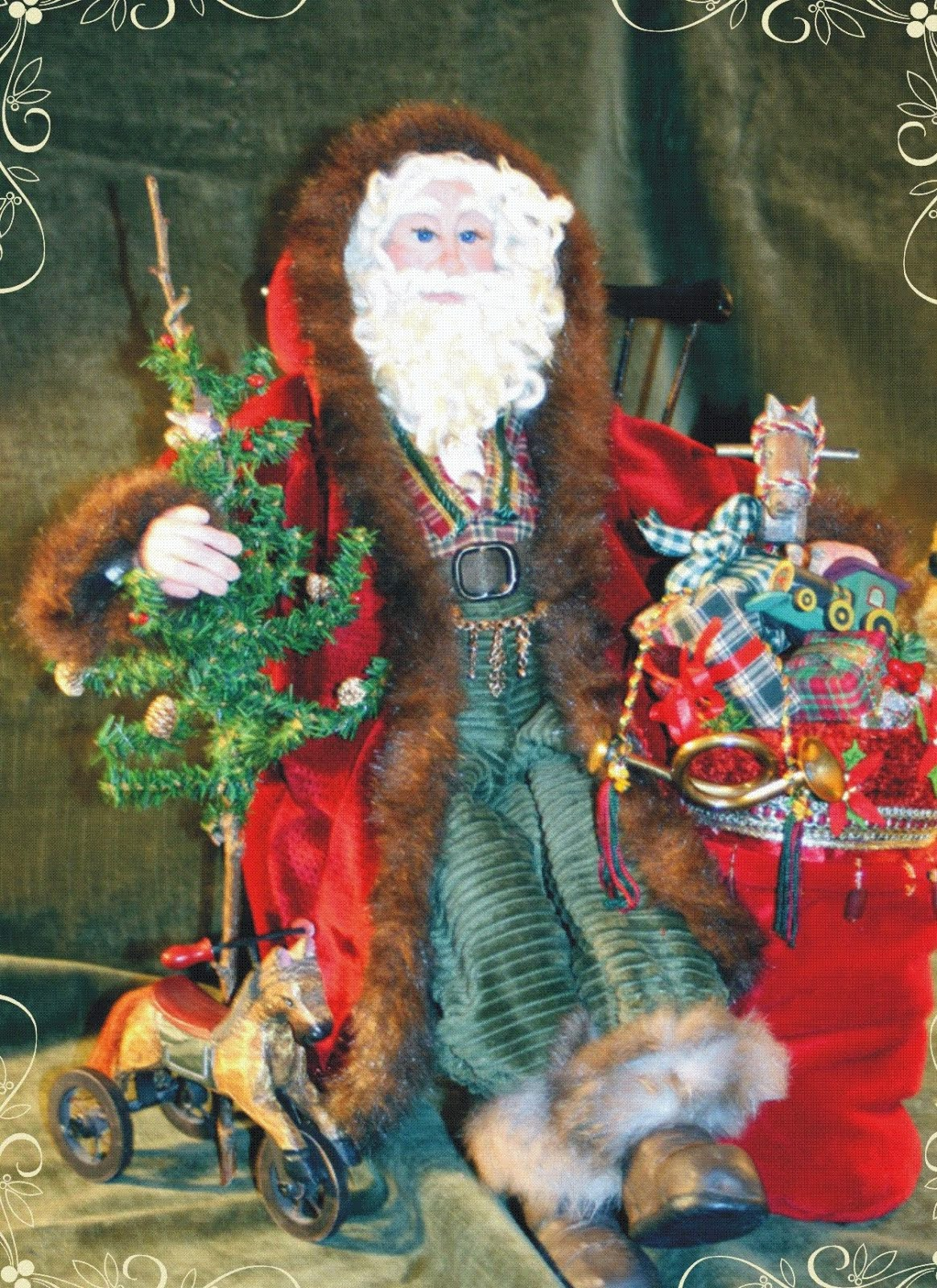 1st Santa Art Doll