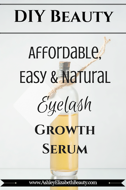 DIY Beauty: Affordable, Easy and Natural Eyelash Growth Serum