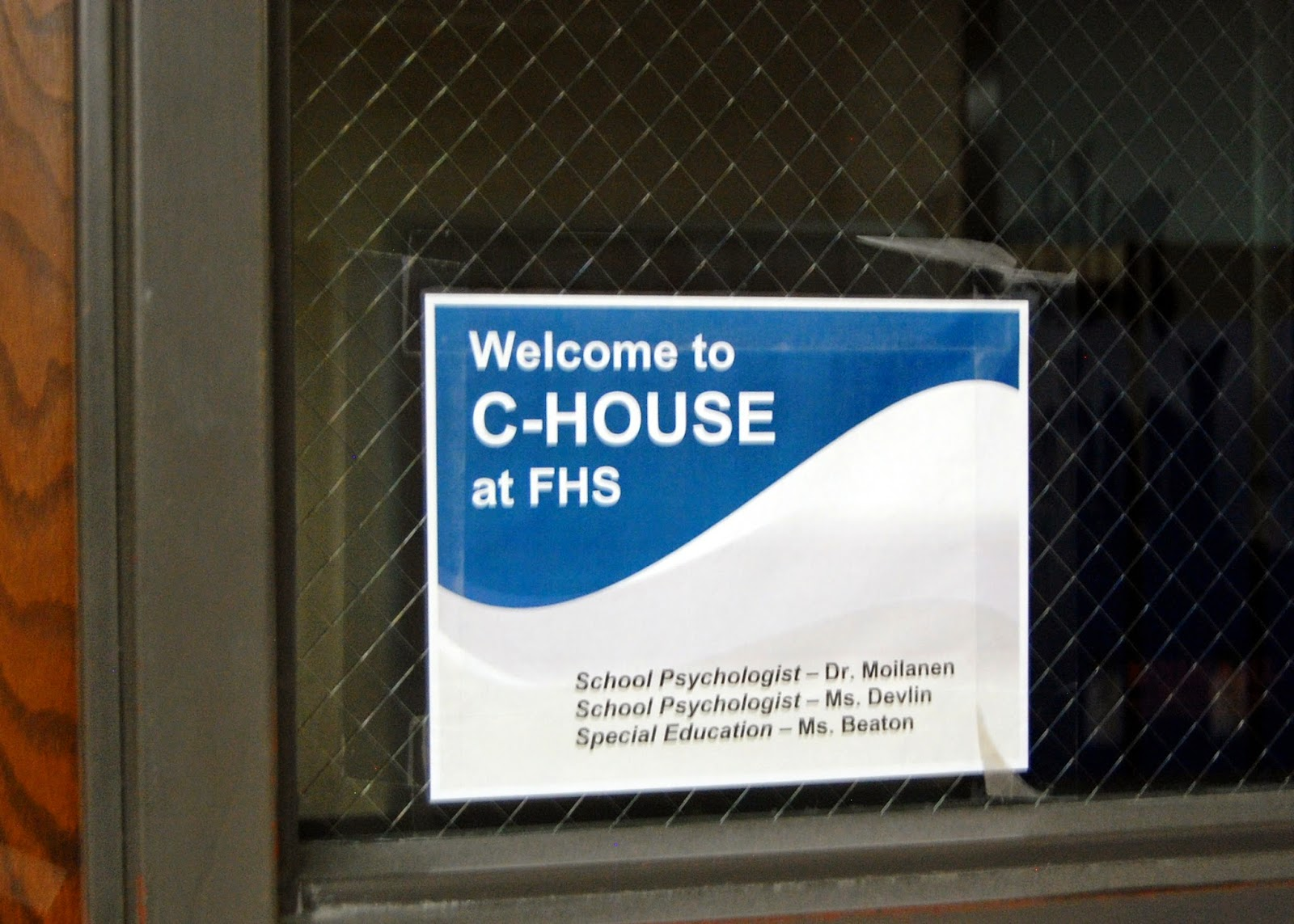 Welcome to C House