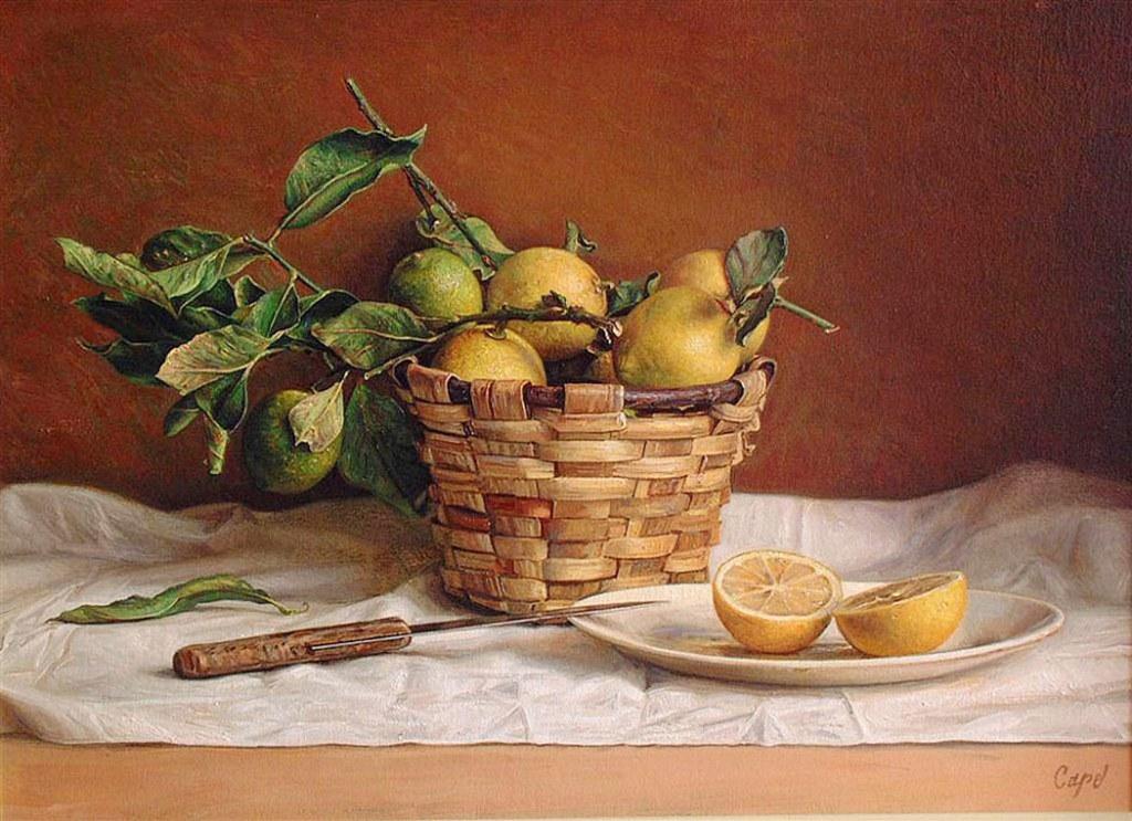 Im genes arte pinturas pinturas leo bodegones con frutas - Laminas antonio lopez ...