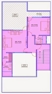 Up Country, Yamuna Expressway :: Floor Plans,Villa  1800 Sq. Ft. (200 Sq. Yds.):Total Buildup Area by us-4698 Sq.ft:-Second Floor Plan