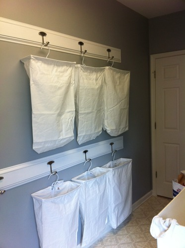 Hanging Laundry Bags I Even Found The Exact Same On Amazon Also Saw This Idea Pinterest For Labeling And Thought It Would Be A Good