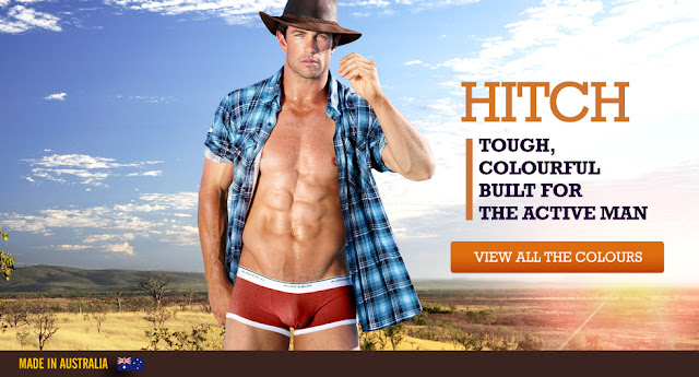 New aussieBum underwear range Hitch