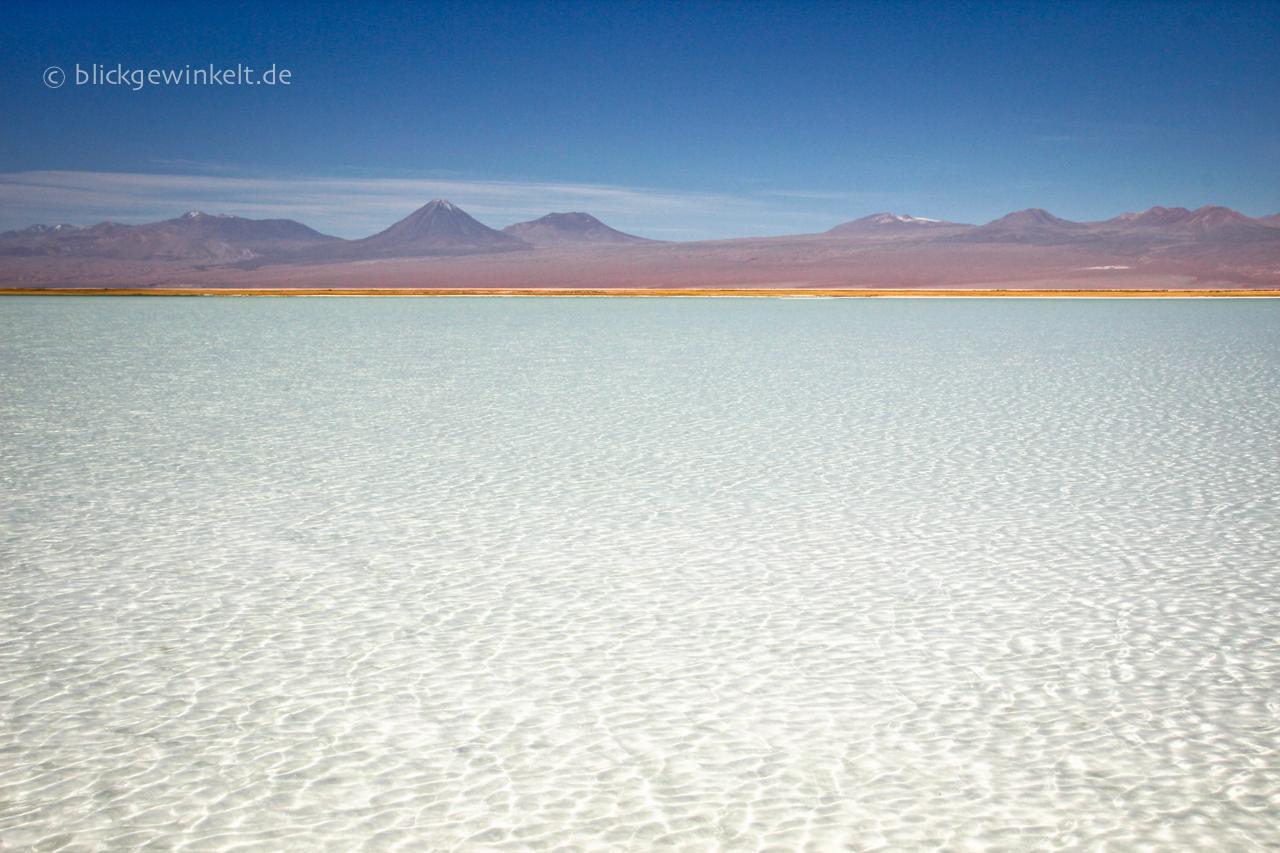 Salzsee in der Atacama