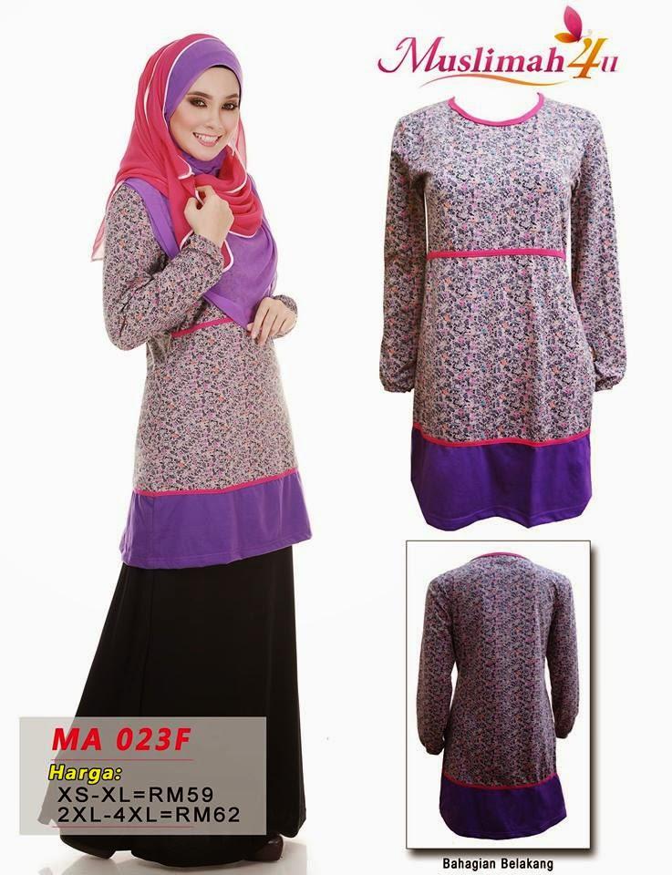 T-shirt-Muslimah4u-MA023F