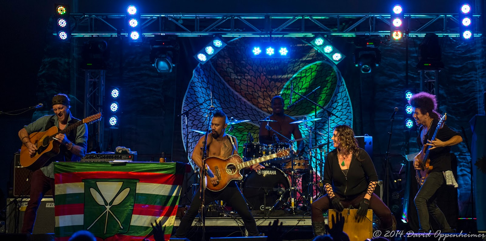 Nahko and Medicine for the People at LEAF Festival