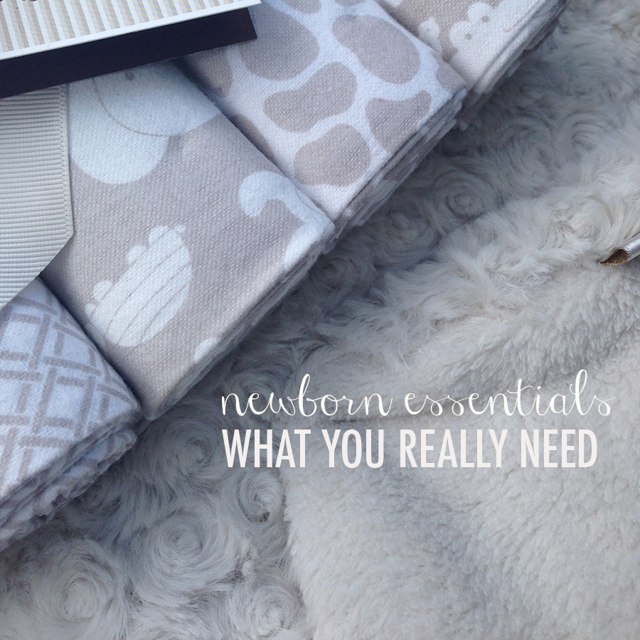 newborn essentials: what you really need