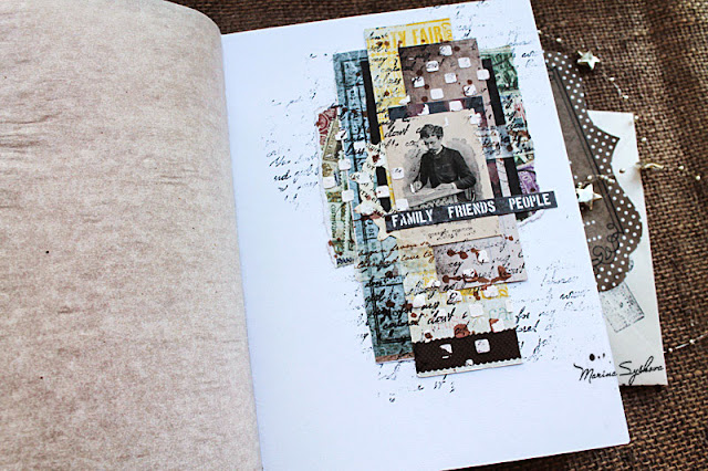 @marinasyskova #notebook #scrap #scrapbooking #7dotsstudio #mixedmedia