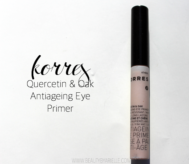 Korres Quercetin & Oak Antiageing Eye Primer