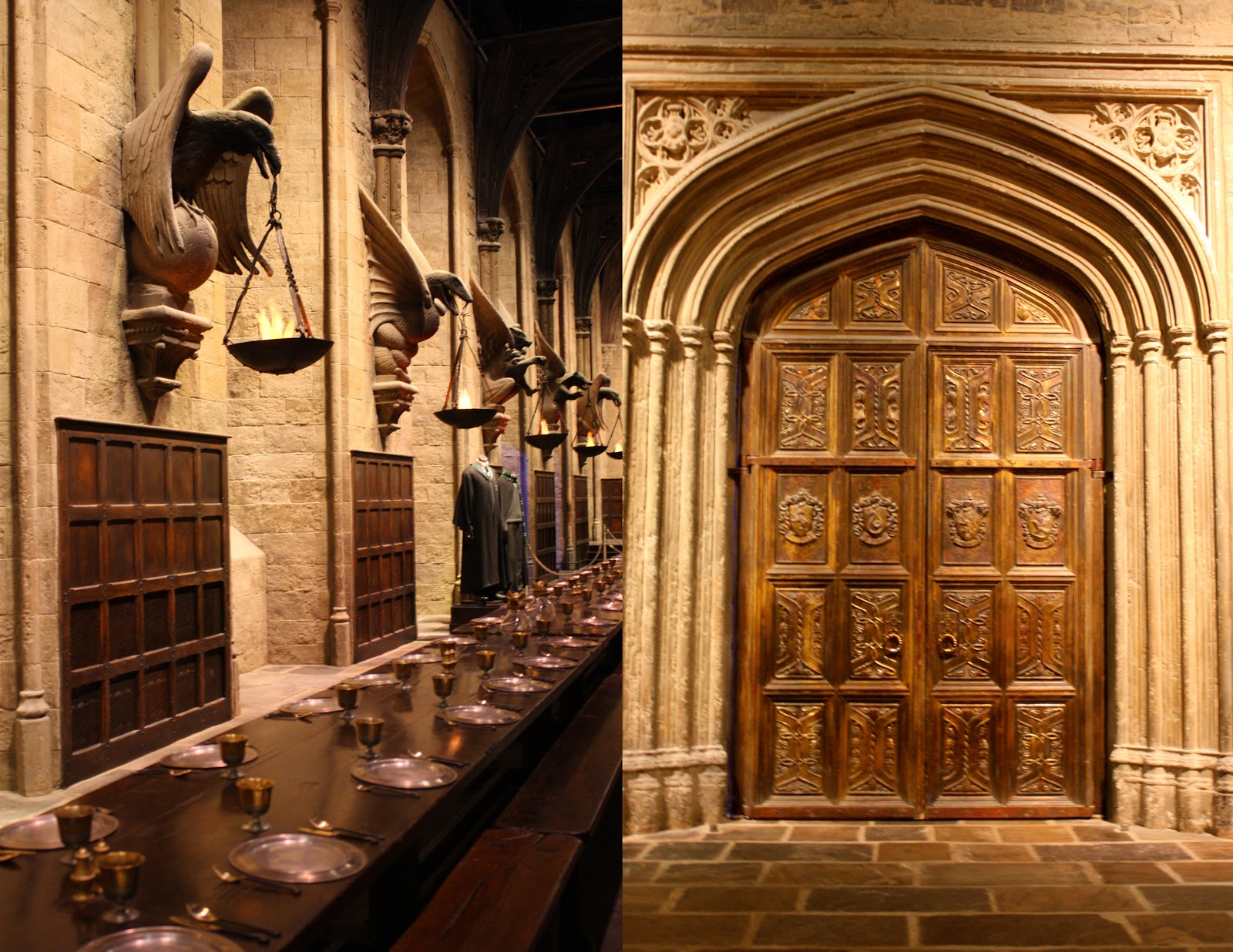 When I walked through the doors of the great hall my jaw dropped. I got to see everything in the films up close and it all just seemed even more magical ... & Shenanigans Rose: Harry Potter Studio London