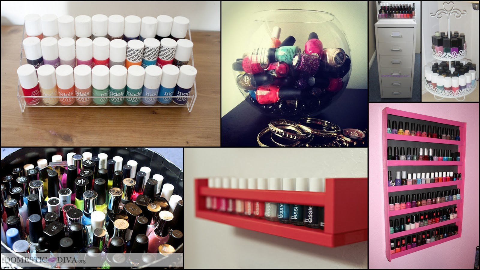 Le boudoir d 39 ines comment ranger son make up quand on for Meuble rangement vernis a ongles