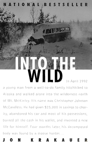 the lone book club  book review  into the wildwhat makes mccandless    s story so compelling is the clear fascination  bordering on obsession  of its author and narrator  jon krakauer