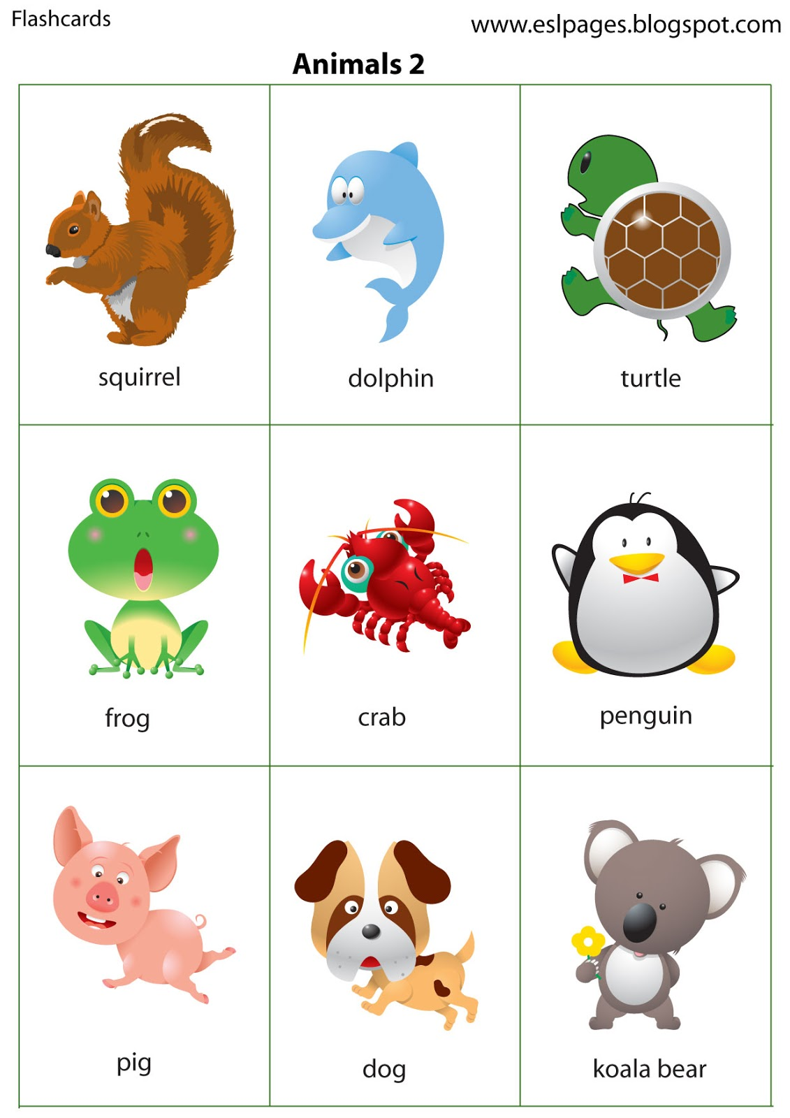 This is a graphic of Agile Printable Animal Flash Cards