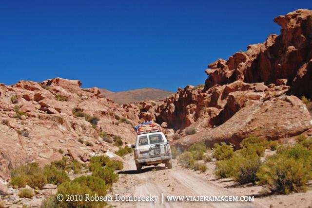 chegando no valle de rocas em lipez bolivia