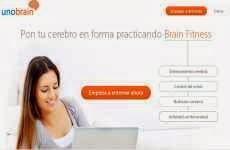 UnoBrain: web para entrenar el cerebro y controlar el estrés mediante juegos mentales online