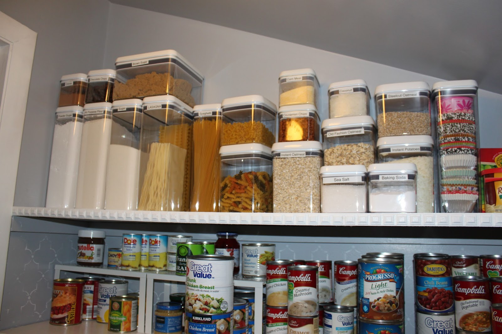 wrapped in love: the pantry project..