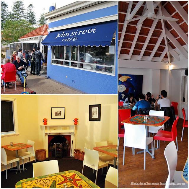 John St Cafe Perth Menu