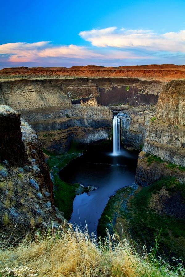 Palouse Waterfalls,USA
