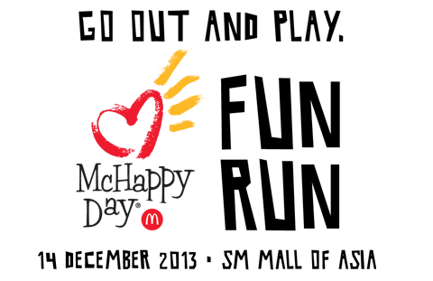 2013 McDonald's McHappy Day Fun Run ~ Run For A Cause