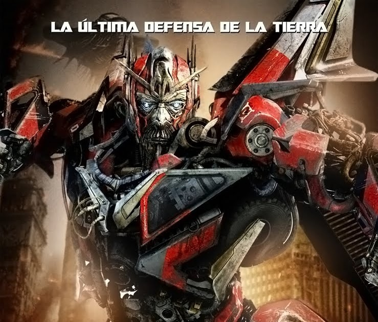 Transformers the movie poster mint