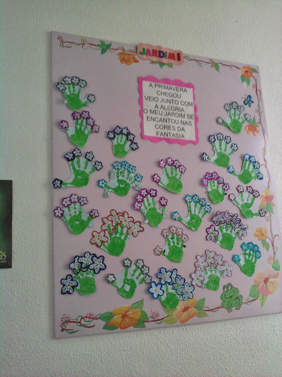 El arte de educar murales para la primavera 2 for Murales para fotografia