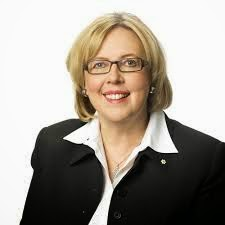 Elizabeth May and her latest book