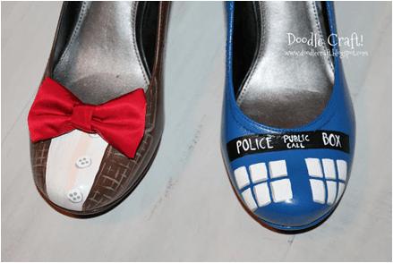 boyalı ayakkabı yapımı