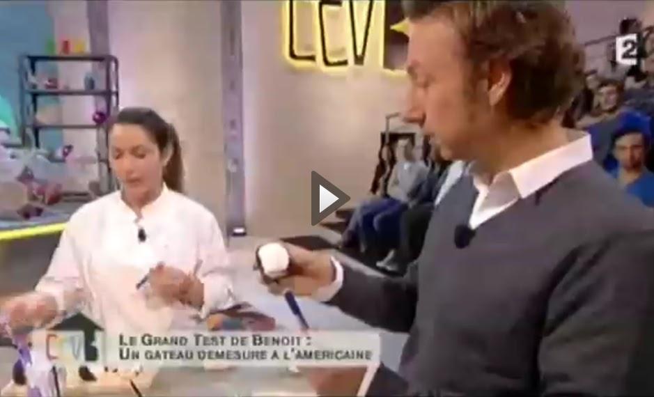 """l'atelier des gâteaux: audrey pour """"comment ça va bien"""" sur france 2"""