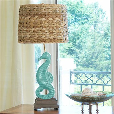 This Seahorse Table Lamp Is The Perfect Lamp For Your Seaside Retreat. This  Glazed Seahorse In Distressed Aqua Sits On A Sand Colored Resin Base And Is  ...