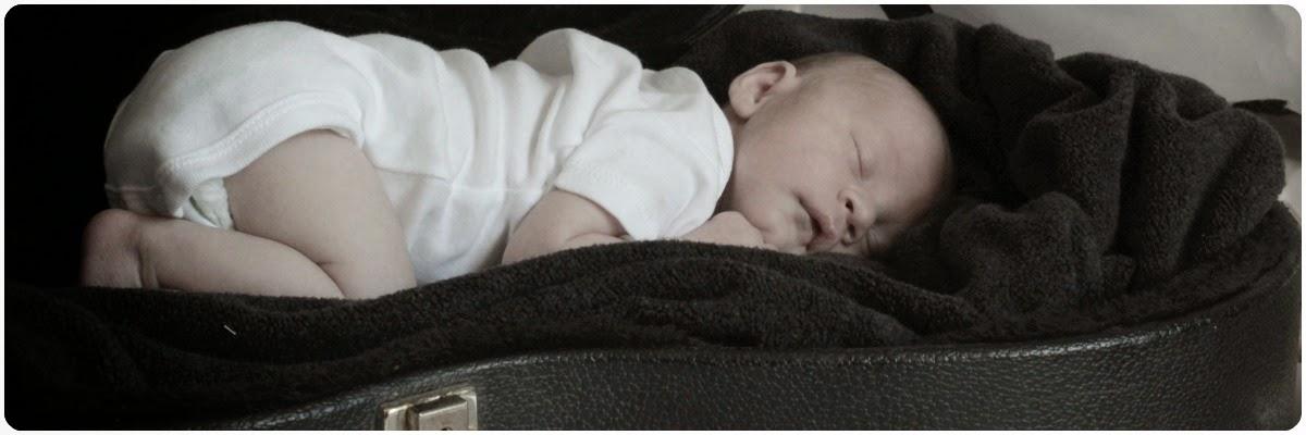 While Josh sleeps.