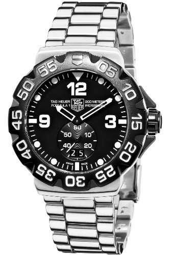 TAG Heuer Men's WAH1010.BA0854 Formula 1 Grande Date Black Dial Watch