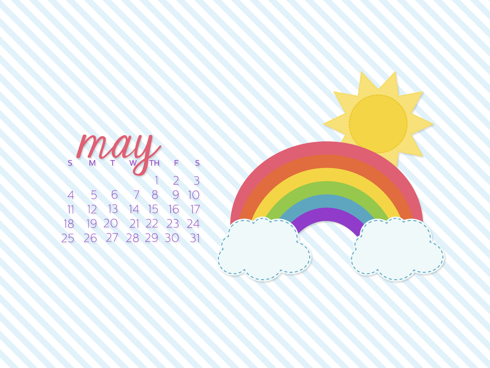 desktop calendar wallpaper simply brenna may 2014