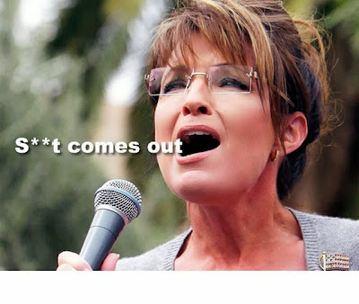 funny Sarah Palin shit mouth
