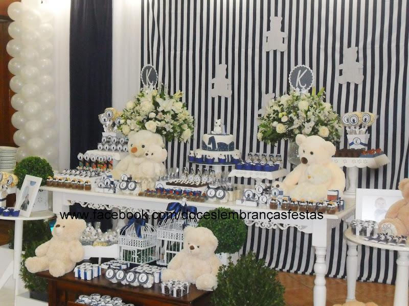 Bolsa De Festa Azul Marinho : Doces lembran?as festas personalizadas festa ursos em
