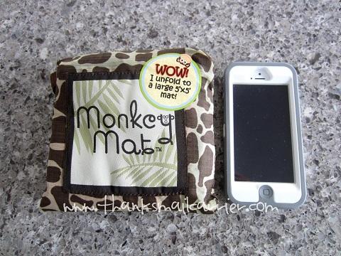 Monkey Mat size
