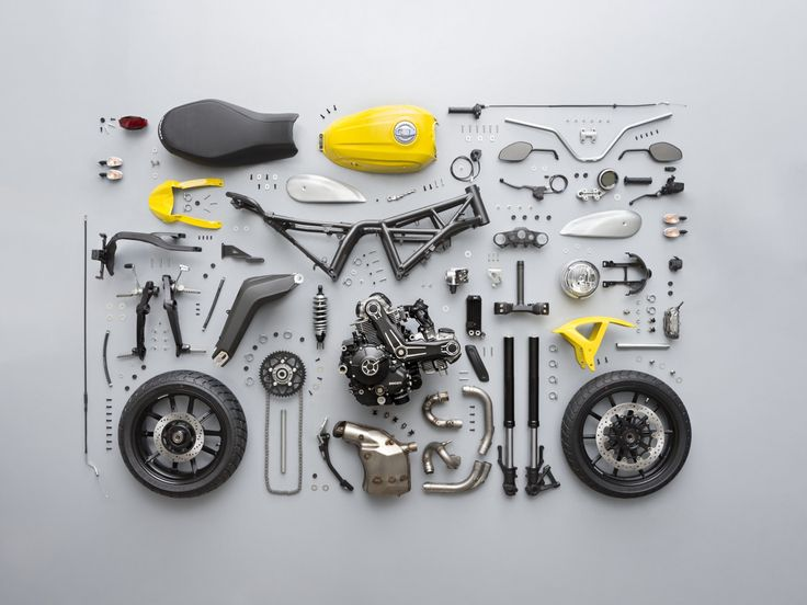 Building a cafe racer selecting a motorcycle return of the cafe ducati scrambler knolling malvernweather Image collections