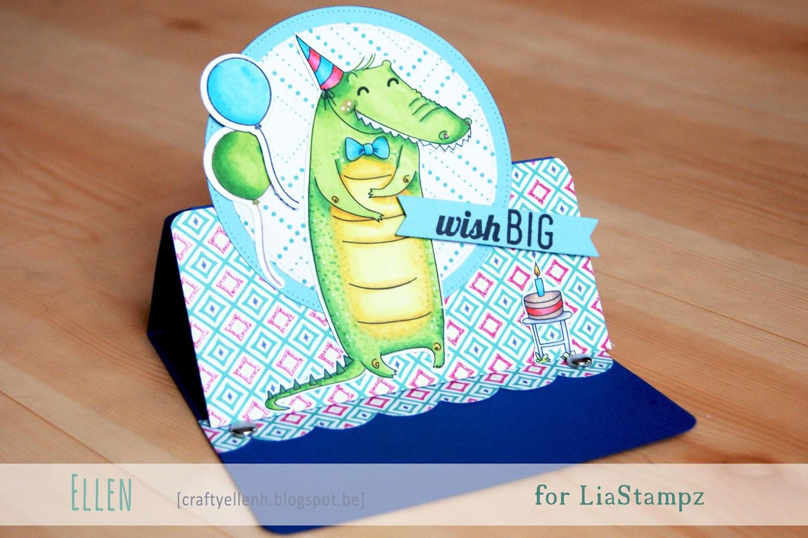 Birthday Crocodile