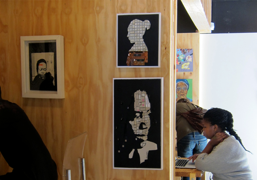 Creative Block art project, Johannesburg