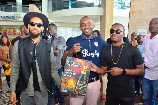 Olamide, Phyno Celebrate Guinness Made Of Black Heroes In Enugu, Lagos You Are NEXT