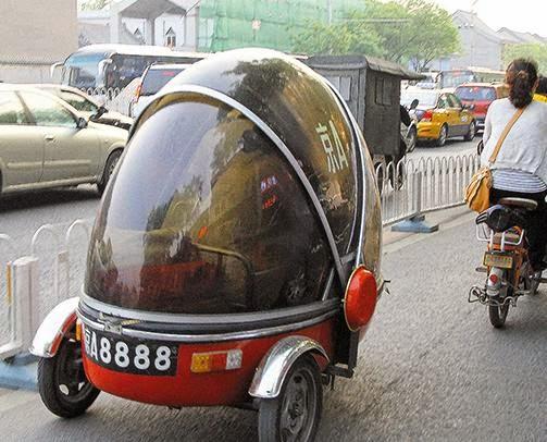 Çin'den yol manzaraları